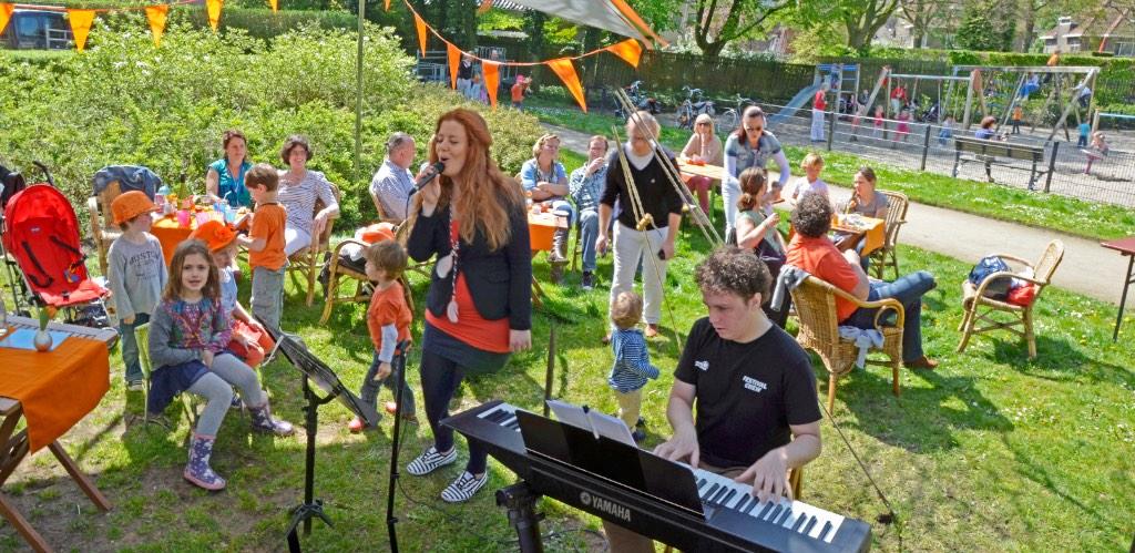 Oranjepret park Eekhout panorama